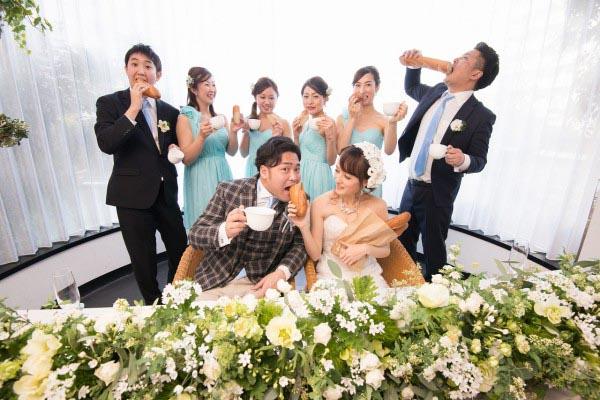 パンとコーヒーでも叶えられる結婚式