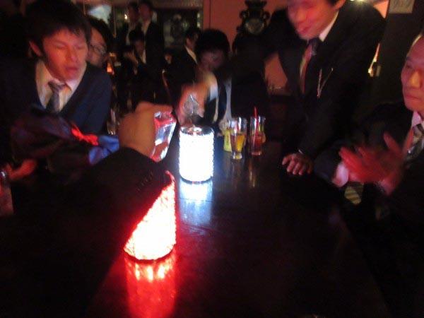 東京タワーをモチーフにした光のセレモニー