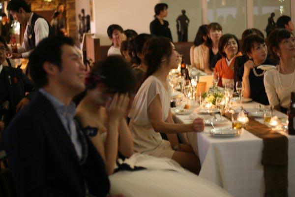 結婚式 1.5次会