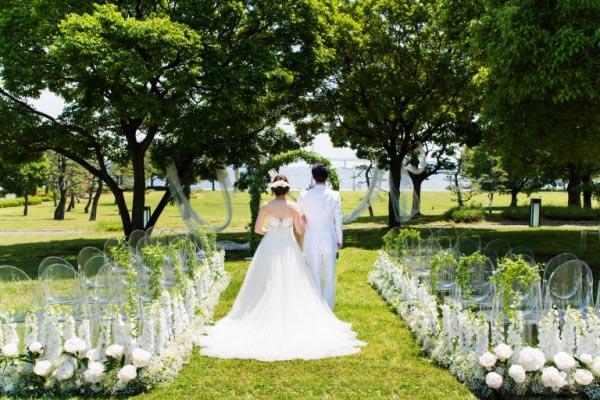 結婚式 ネオフラッグ