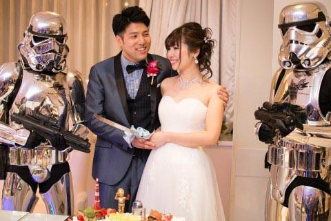 スターウォーズ 結婚式