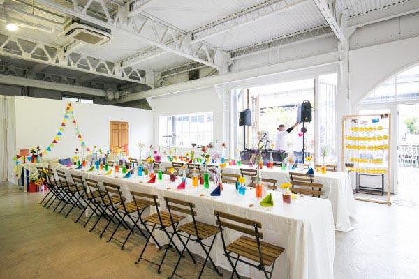 ボートハウススタジオ 結婚パーティー