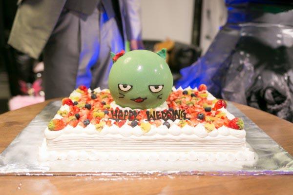 オリジナルウェディングケーキ