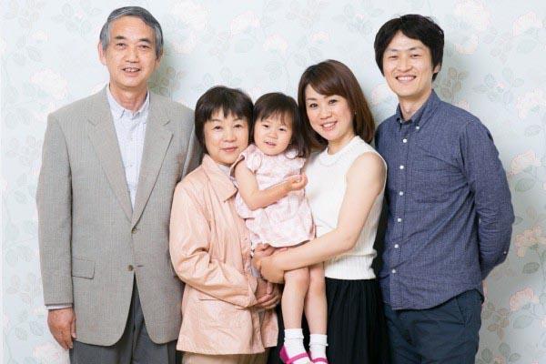 記念日 家族写真