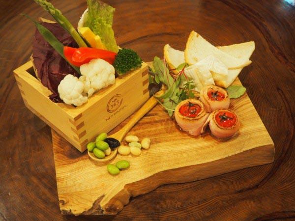 木婚式 お料理