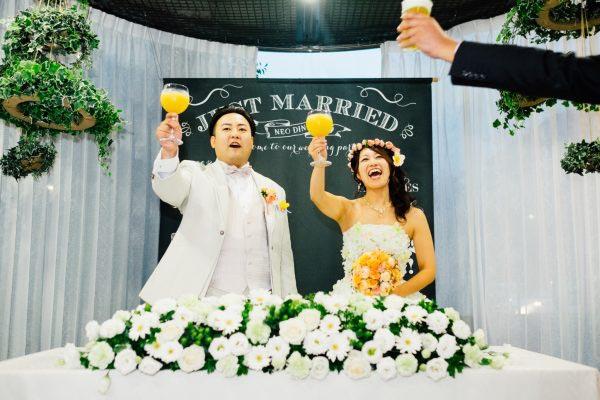 マリブカクテル 乾杯