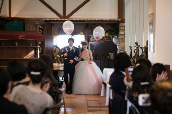 結婚式 お色直し入場