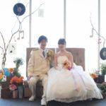 \音楽が見える結婚式1.5次会レポート/テーマはSonata(ソナタ)~繋げるオトとワ~