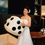 【パーティーレポート】まるで人生ゲーム!? サイコロがテーマのゲスト参加型の結婚式