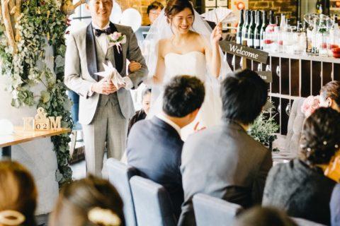 少人数結婚式1.5次会【パーティーレポート】WAVIN´FLAG~ア・リ・ガ・ト・ウのサイン